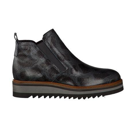 new concept 8482e f681a Maripé Flache Boots für Damen (Grau/Schwarz) | Shoes ...