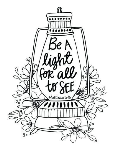 Image Result For Salt And Light Coloring Page Bible Coloring