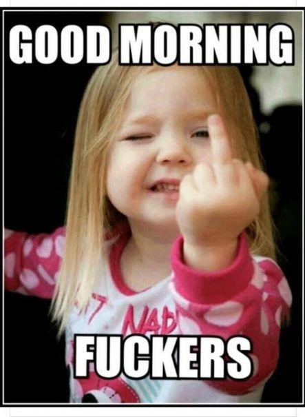 funny dirty good morning memes