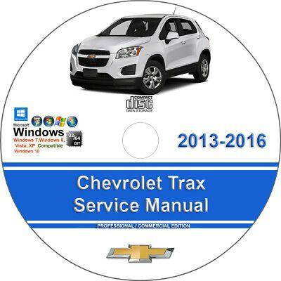 Advertisement Ebay Chevrolet Trax 2013 2014 2015 2016 Factory