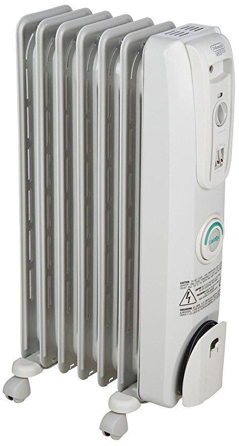 Delonghi Ew7707cm Safe Heat 1500w Comfortemp Portable Oil Filled Radiator