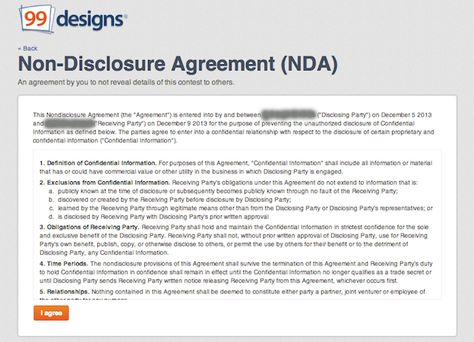 Non-Disclosure Agreement what you think is government Pinterest - confidentiality agreement pdf
