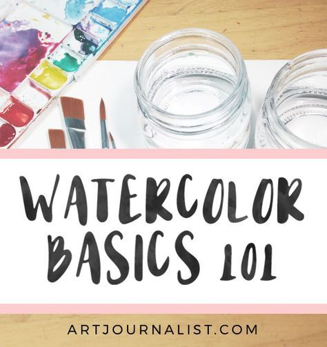 How To Paint With Watercolors Watercolor Painting For Beginners