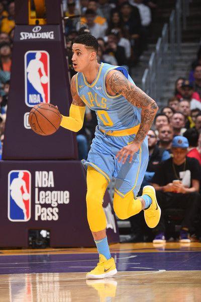 Kyle Kuzma Photos Photos Oklahoma City Thunder V Los Angeles Lakers Kyle Kuzma Nba League Pass Los Angeles Lakers