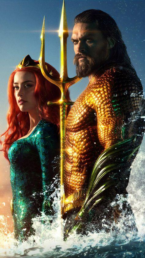 Jason Momoa Amber Heard In Aquaman 4k Ultra Hd Mobile Wallpaper Aquaman Film Aquaman Dc Comics Aquaman