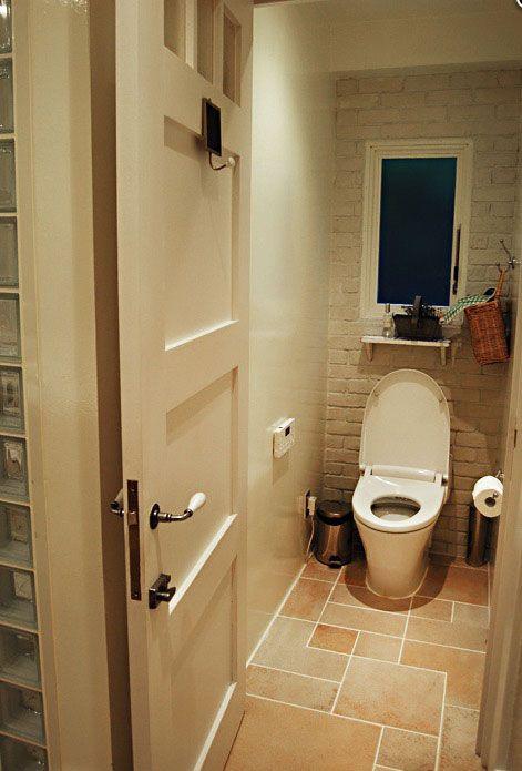 Diy トイレを可愛くdiy ハイセンスの空間作りをする達人達 トイレ おしゃれ トイレ インテリア トイレ 床 タイル