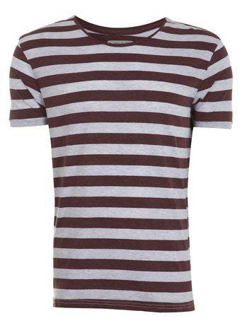 Purple Frost Striped T-Shirt