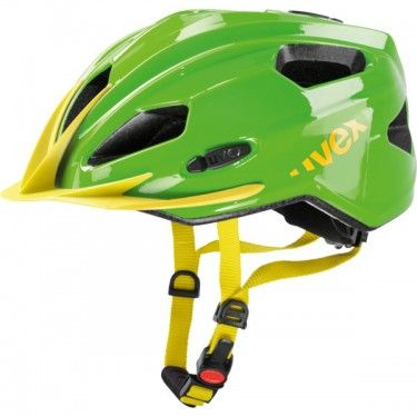 Quatro Junior Helmet By Uvex Germany Green Yellow Helmet
