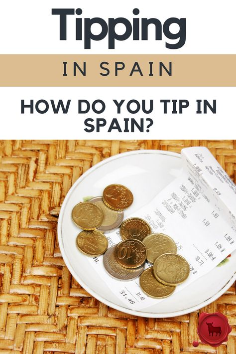 How Do You Tip in Spain? When traveling to Spain, however, it is important to know that the customs can be different for tipping in Spain. While tipping in the United States is considered mandatory or assumed, tipping in Spain is not necessary in most cases. Spanish people typically do not leave a tip in Spain, so feel free to follow the local customs. #ilivespain