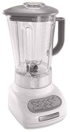 Kitchenaid 5 Speed Blenders With Polycarbonate Jars White Review Kitchen Aid Kitchen Jars Kitchenaid Blender