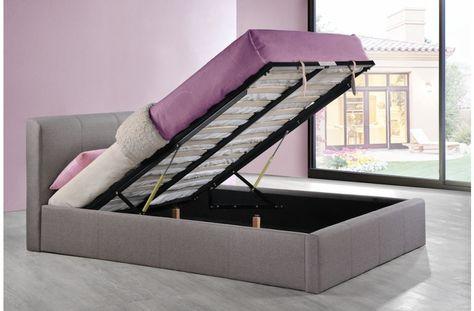 Astounding Birlea Brooklyn Ottoman Fabric Bed Frame Fabric Ottoman Theyellowbook Wood Chair Design Ideas Theyellowbookinfo