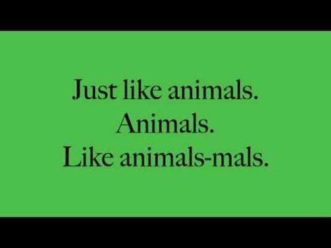 Animals Maroon 5 Lyrics YouTube - YouTube