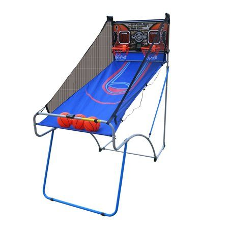 Lancaster Sports Ez Fold 2 Player Indoor Traditional Arcade Basketball Game Walmart Com Arcade Basketball Basketball Games For Kids Ohio State Basketball