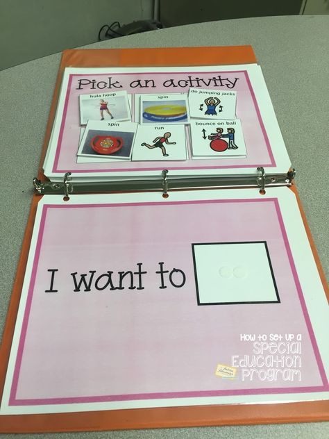 The Autism Adventures of Room 83: Special Education Classroom Daily Schedule- Morning Fitness and Morning Meeting