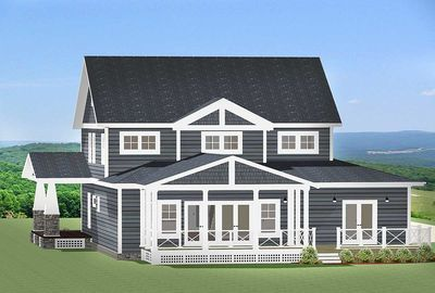 craftsman house plan with l shaped porch 46301la thumb 03 - L Shaped Craftsman Home Plans