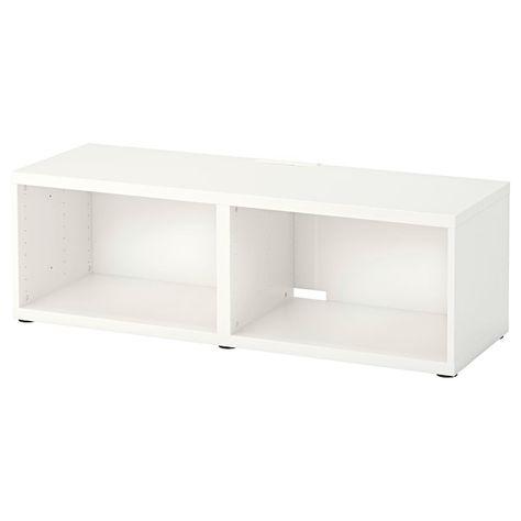 Ikea Bestå Tv Bench White Trondo En 2019