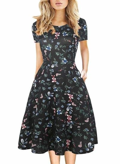 Just 22 Cute Summer Dresses You Can Get On Amazon Simple Dress Casual Cute Simple Dresses Summer Cocktail Dress