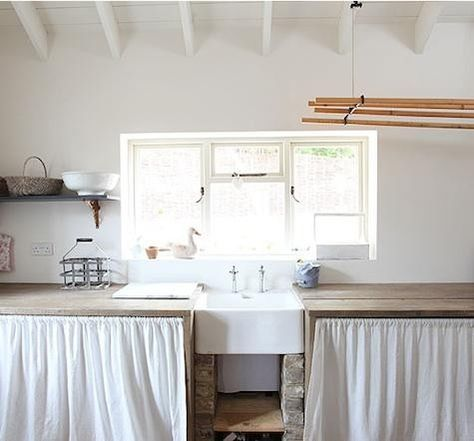 14 curtains as kitchen cabinet doors