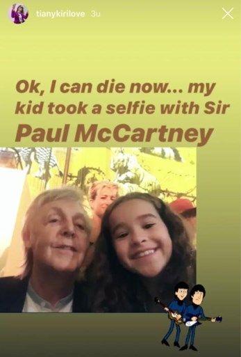Pin Van Katarzyna Maciejewska Op The Beatles Selfie Paul Mccartney Dochter