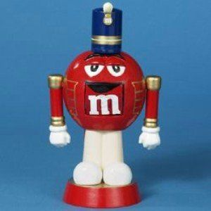 $17.72-$22.00 Kurt Adler M&M Red Nutcracker - 7.5-Inch Red M&M Nutcracker. http://www.amazon.com/dp/B000QDY5WA/?tag=pin2wine-20