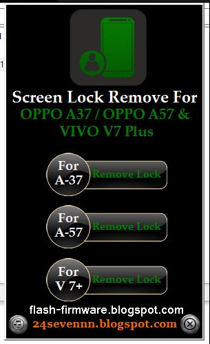 DownloadOppo User Lock Unlock Tool Feature: A37 Remove Lock A57