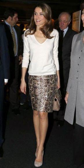 GOLDEN DREAMLAND: Queen Letizia of Spain