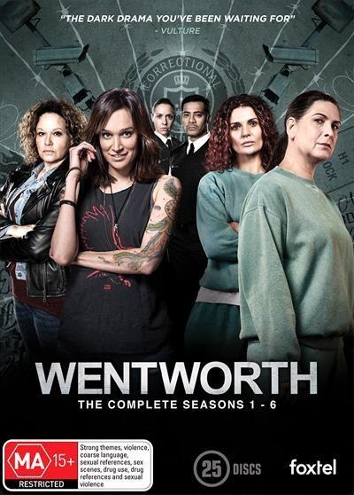 Wentworth Season 1 6 Boxset Wentworth Tv Show Wentworth Boxset