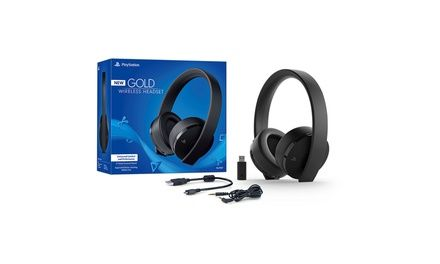 Playstation 4 Gold Wireless Headset Wireless Headset Wireless Gaming Headset Headset