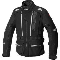 Spidi H2Out Allroad Motorrad Textiljacke Schwarz Grau 4xl Spidi
