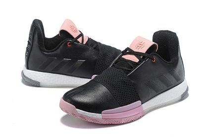 adidas Harden Vol. 3 Black/Pink-White