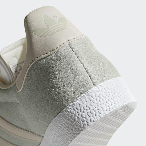 ADIDAS ORIGINALS Sneaker 'Gazelle W' Damen, Anthrazit / Weiß ...