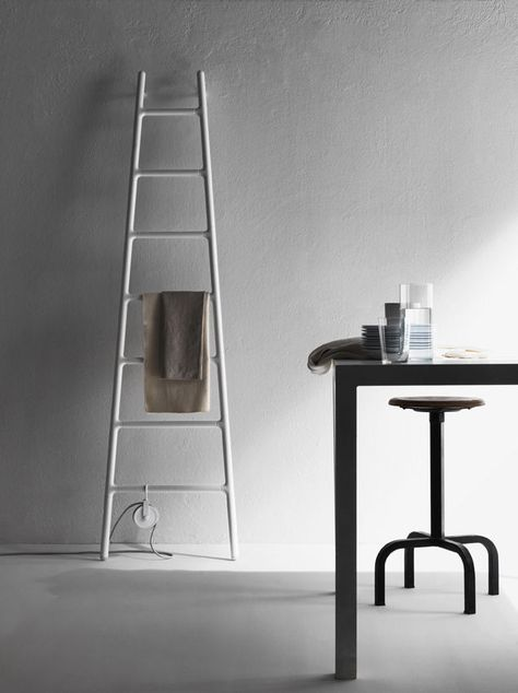Electric radiator / vertical / aluminum / wall-mounted ELEMENTS: SCALETTA by…