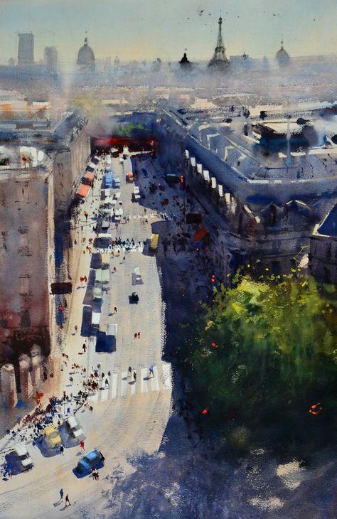 Alvaro Castagnet, Paris