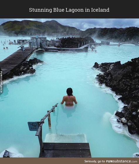 Blue Lagoon in Iceland is like mystical land