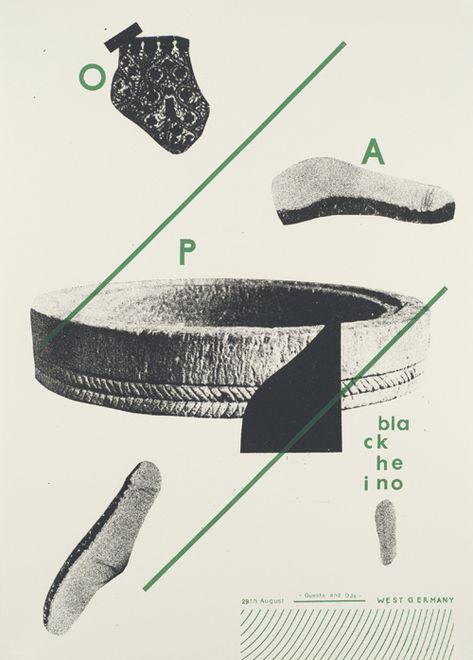 Affiche typographique par Damien Tran sur Clikclk