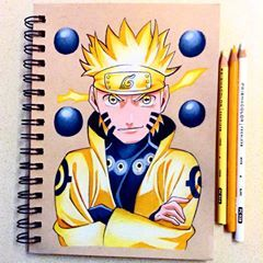 New Drawing Of Naruto Uzumaki Six Paths Sage Mode Realized I