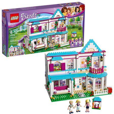 Lego Friends Stephanie S House 41314 Toy Dollhouse Playset 622 Pcs Walmart Com Lego Friends Toy House Lego Friends Sets