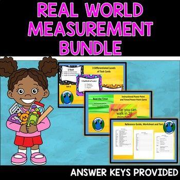 Measurement Activities Real World Measurement Bundle Math
