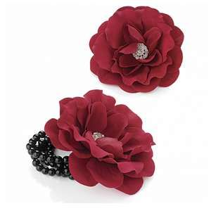 Red Wrist Corsage Flower | Prom Jewellery & Accessories |