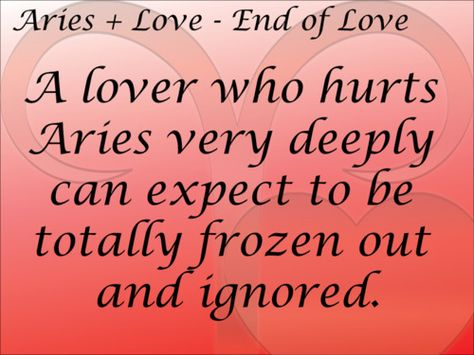 what signs fall love with aries selflessness dark