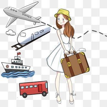 Nina De Dibujos Animados De Vector 19 Belleza De Vector Chica De Dibujos Animados Personaje Png Y Psd Para Descargar Gratis Pngtree Viagem Turismo Viajar Ao Redor Do Mundo Malas Viajem