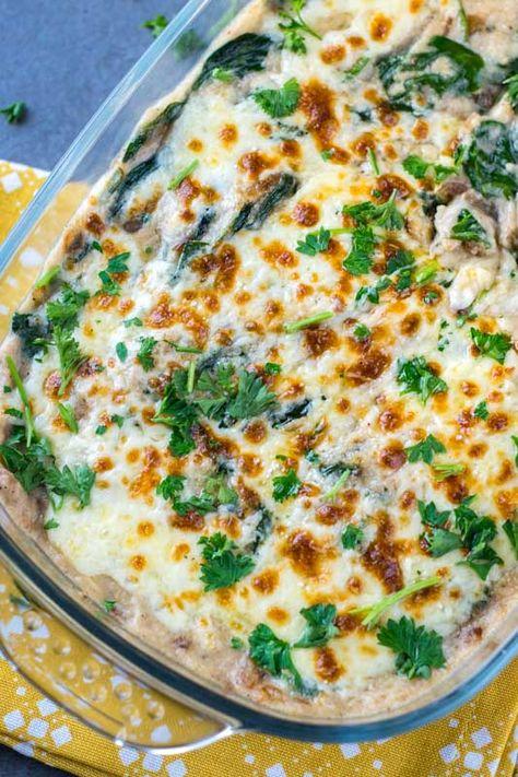 Low Carb Green Bean Mushroom And Parmesan Casserole Recipe