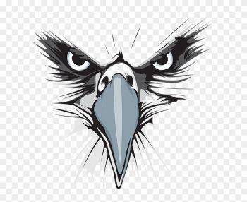 Eagle Logo Black And White Png Free Transparent Image