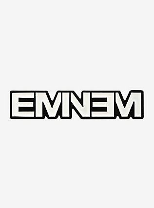 Eminem Logo Enamel Pin Eminem Logo Eminem Eminem Quotes