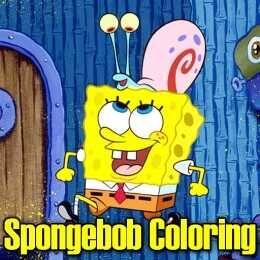 لعبة تلوين سبونج بوب Spongebob Coloring Spongebob Coloring Spongebob Color