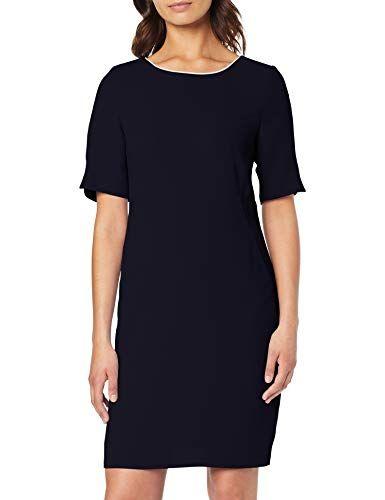 S Oliver Black Label Damen 11 904 82 7565 Kleid Blau True Blue 5959 Herstellergrosse 44 Kleider Kleid Mit Armel Damen
