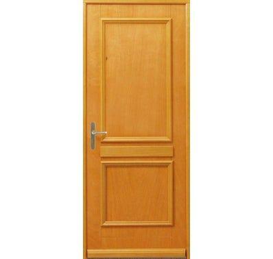 Porte D Entree Bois Limena H215xl90 Gauche Tall Cabinet Storage Flers Storage Cabinet