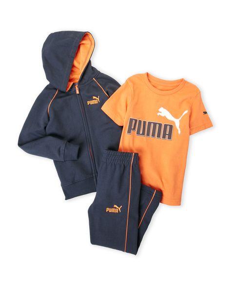 Férfi póló edzéshez, narancssárga PUMA