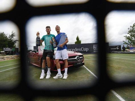 Philipp Kohlschreiber (r.) verpasste seinen achten Turniersieg. Foto: Marijan Murat