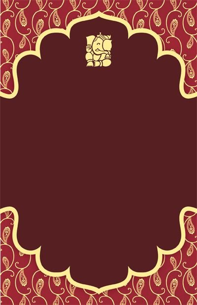Vertical Flat Invitation 6 X9 Hindu Wedding Invitations Wedding Invitation Background Hindu Wedding Invitation Cards